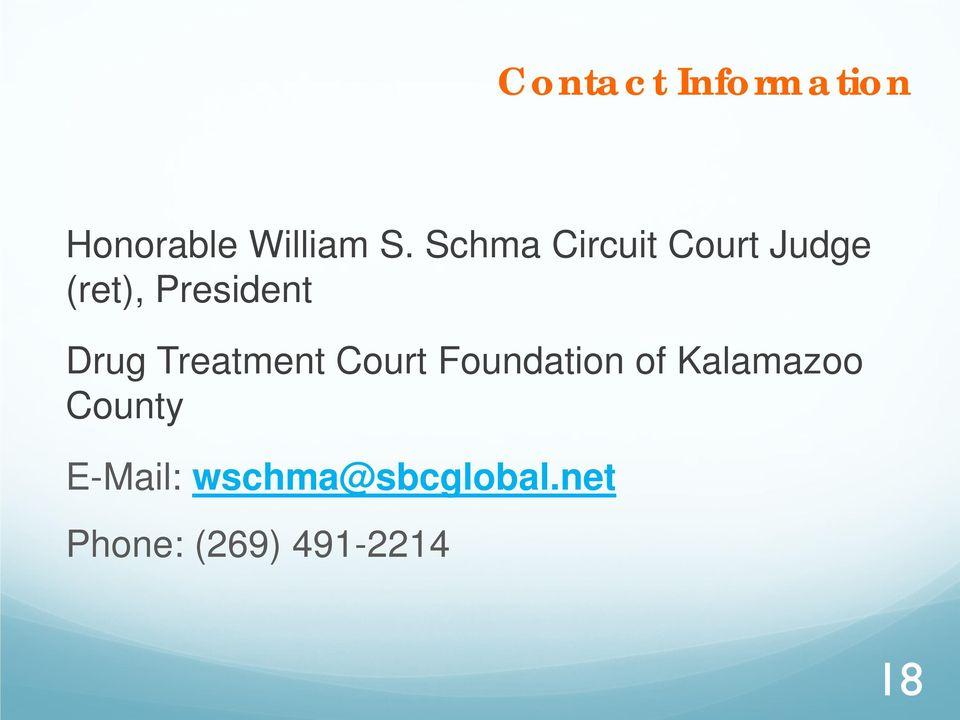 Treatment Court Foundation of Kalamazoo County