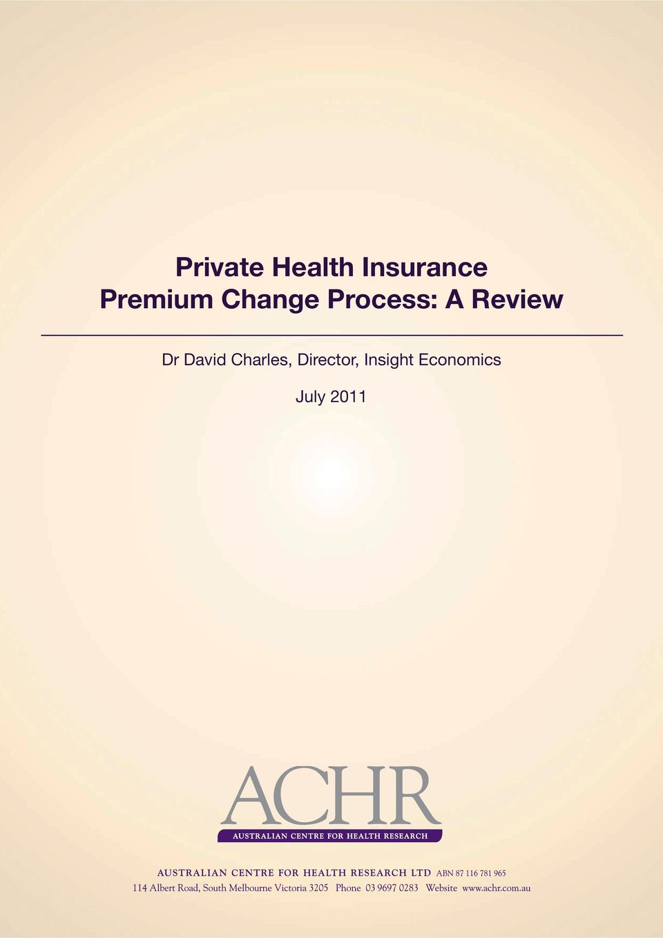 Review Dr David Charles,