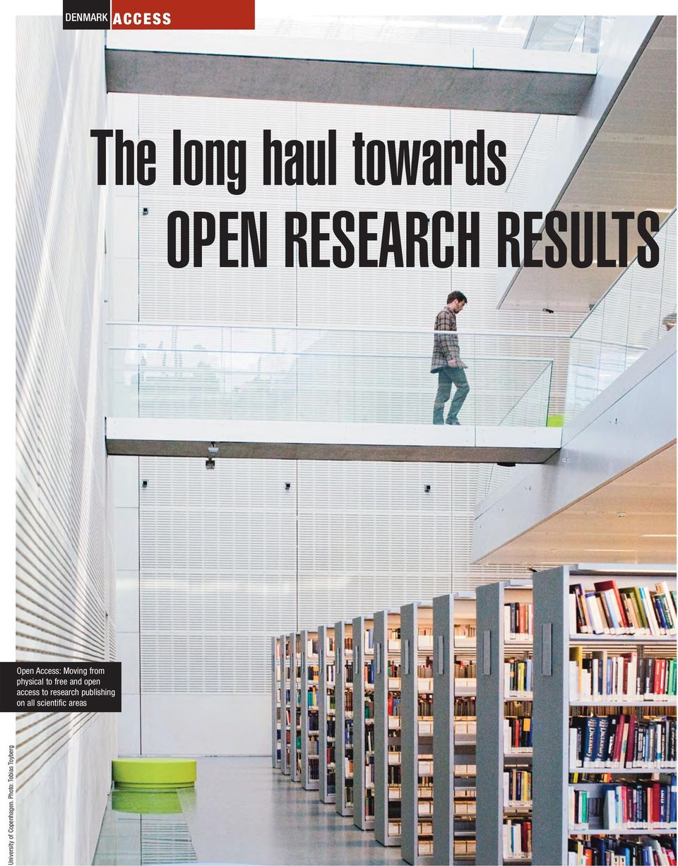 and open access to research publishing on all
