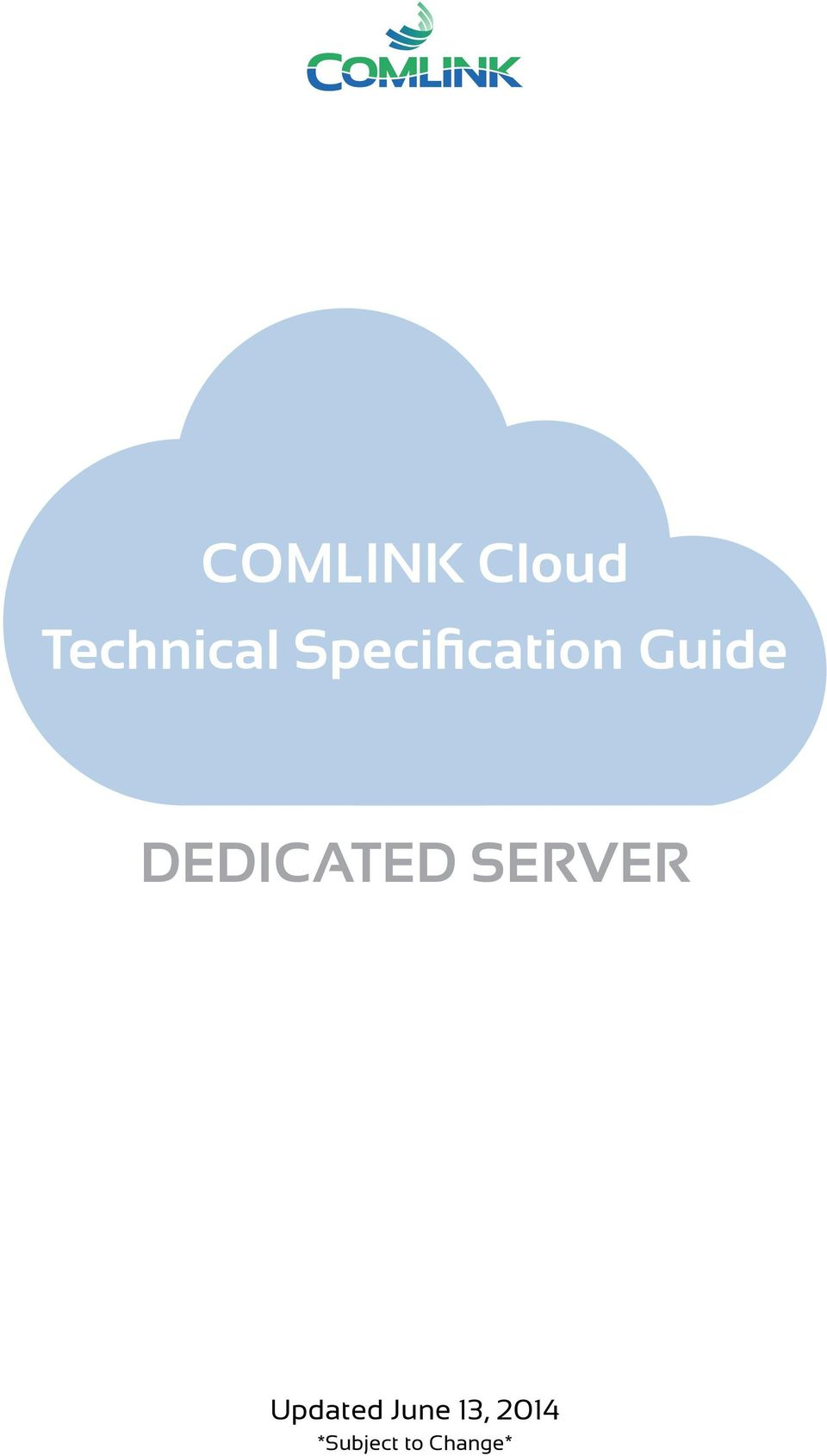 DEDICATED SERVER Updated