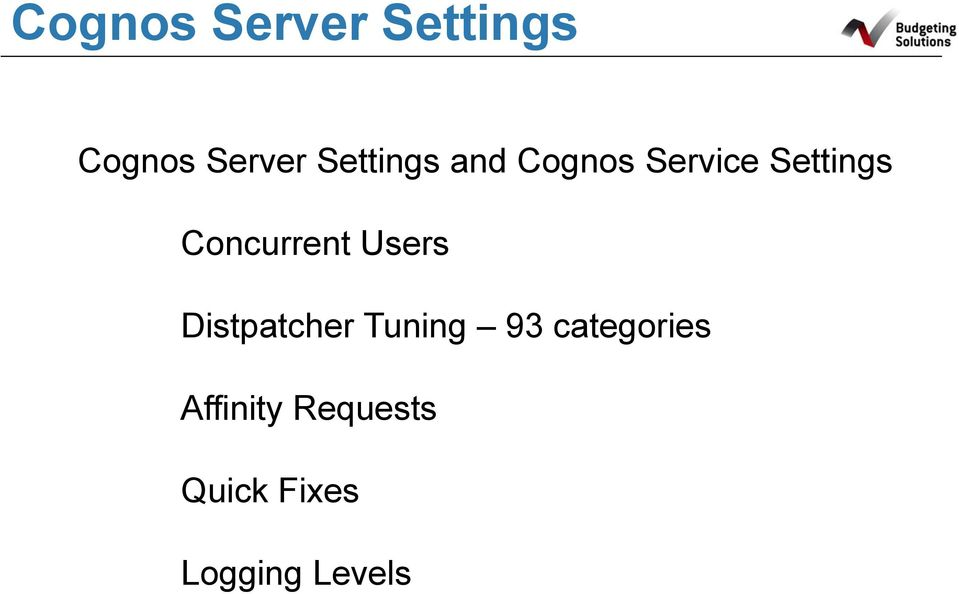 Concurrent Users Distpatcher Tuning 93