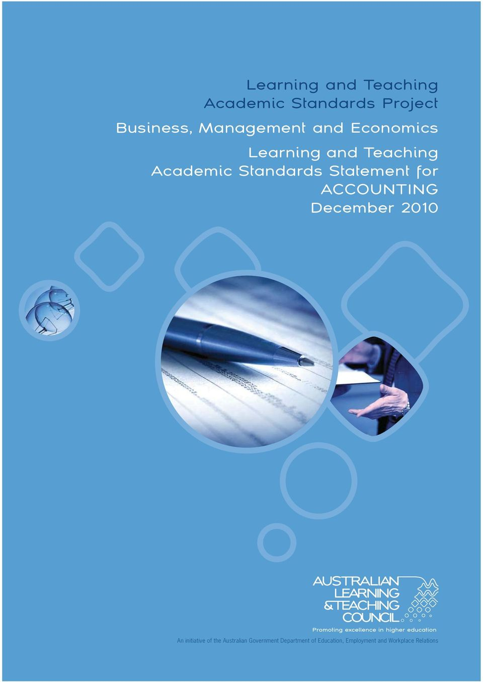 Statement for ACCOUNTING December 2010 A An initiative of the