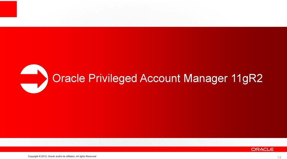 2012, Oracle and/or its