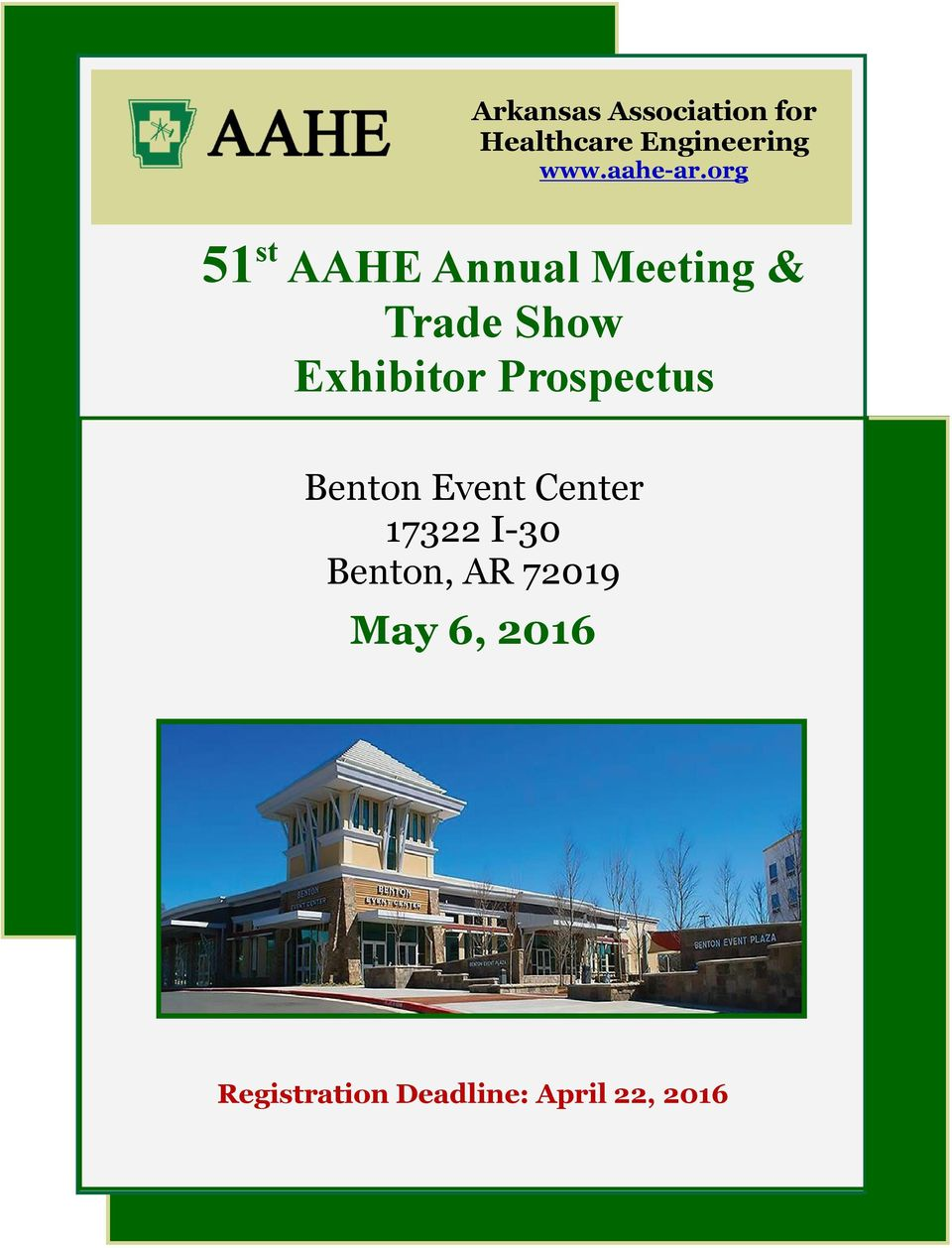 org 51st AAHE Annual Meeting & Trade Show Exhibitor