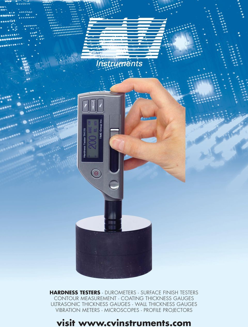 THICKNESS GAUGES - WALL THICKNESS GAUGES VIBRATION METERS