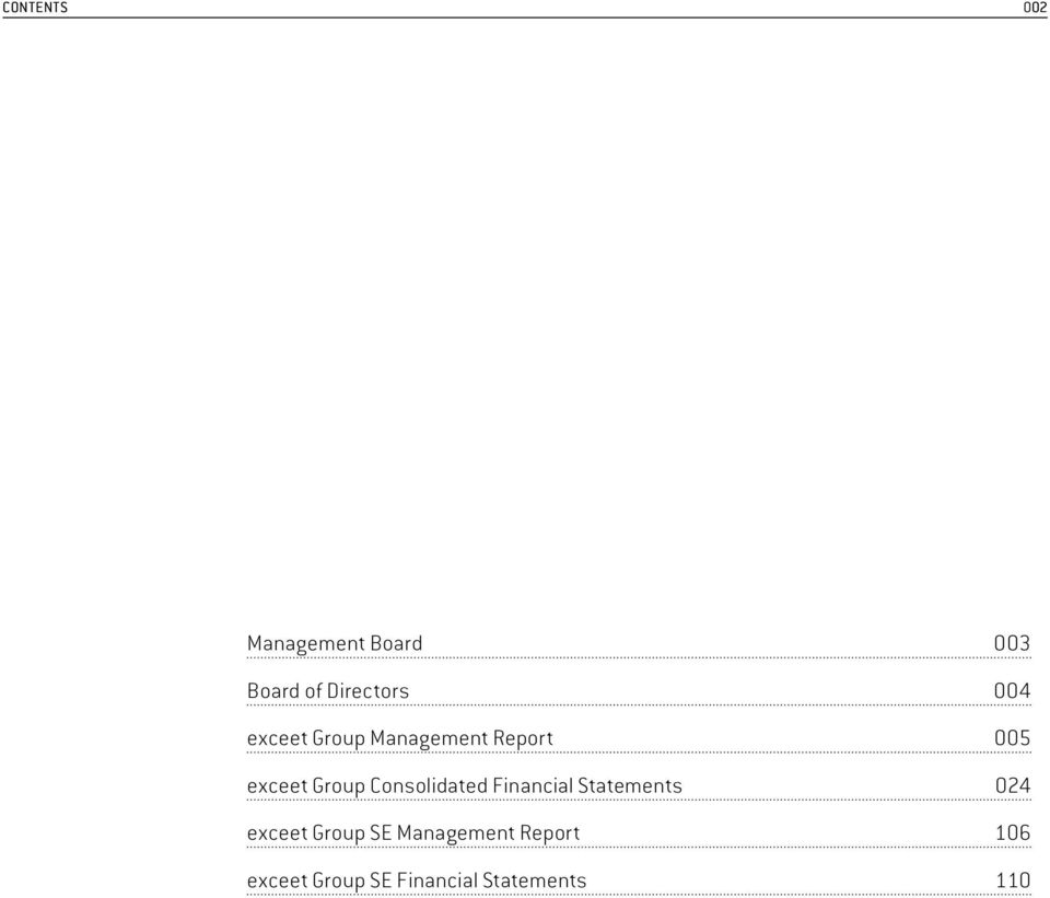 Group Consolidated Financial Statements 024 exceet Group