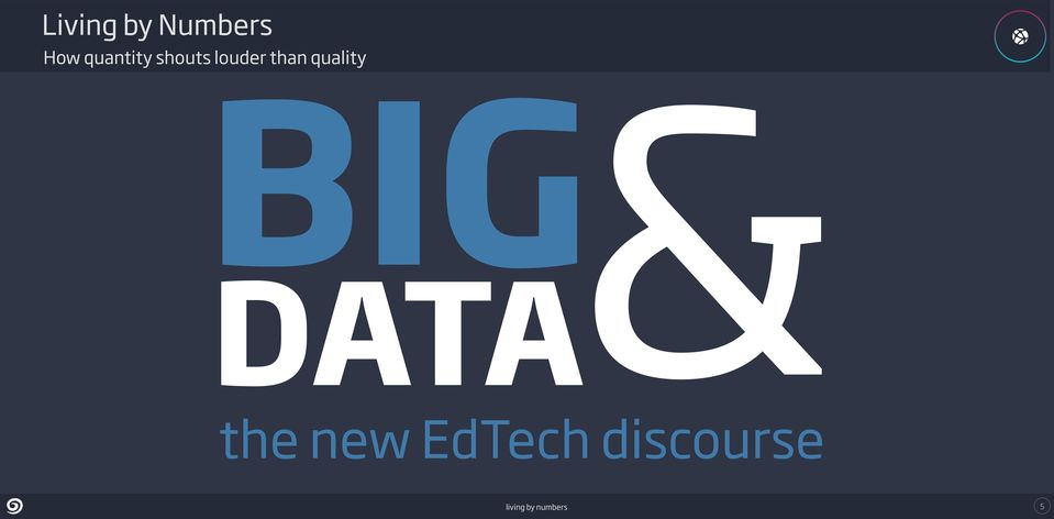 quality BIG DATA& the new