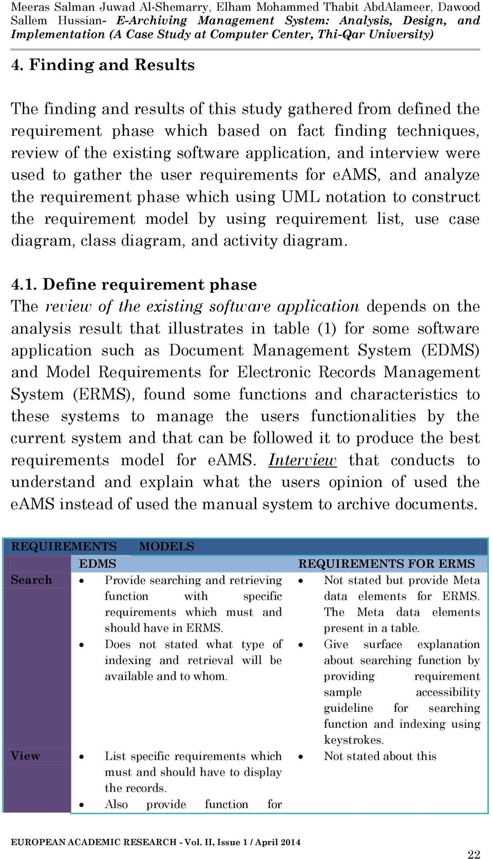 E Archiving Management System Analysis Design And Implementation A Case Study At Computer Center Thi Qar University Pdf Free Download