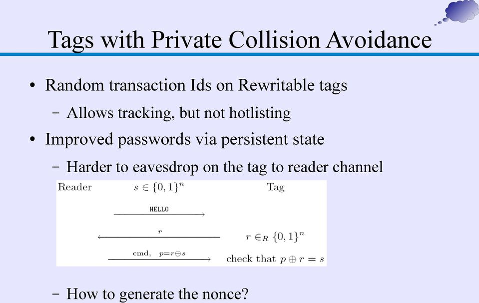 hotlisting Improved passwords via persistent state Harder