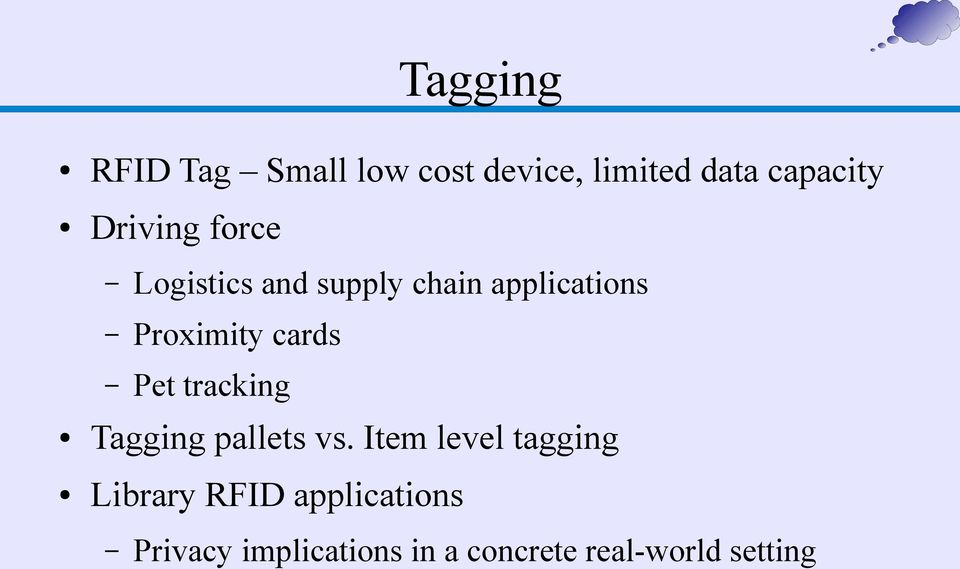 cards Pet tracking Tagging pallets vs.