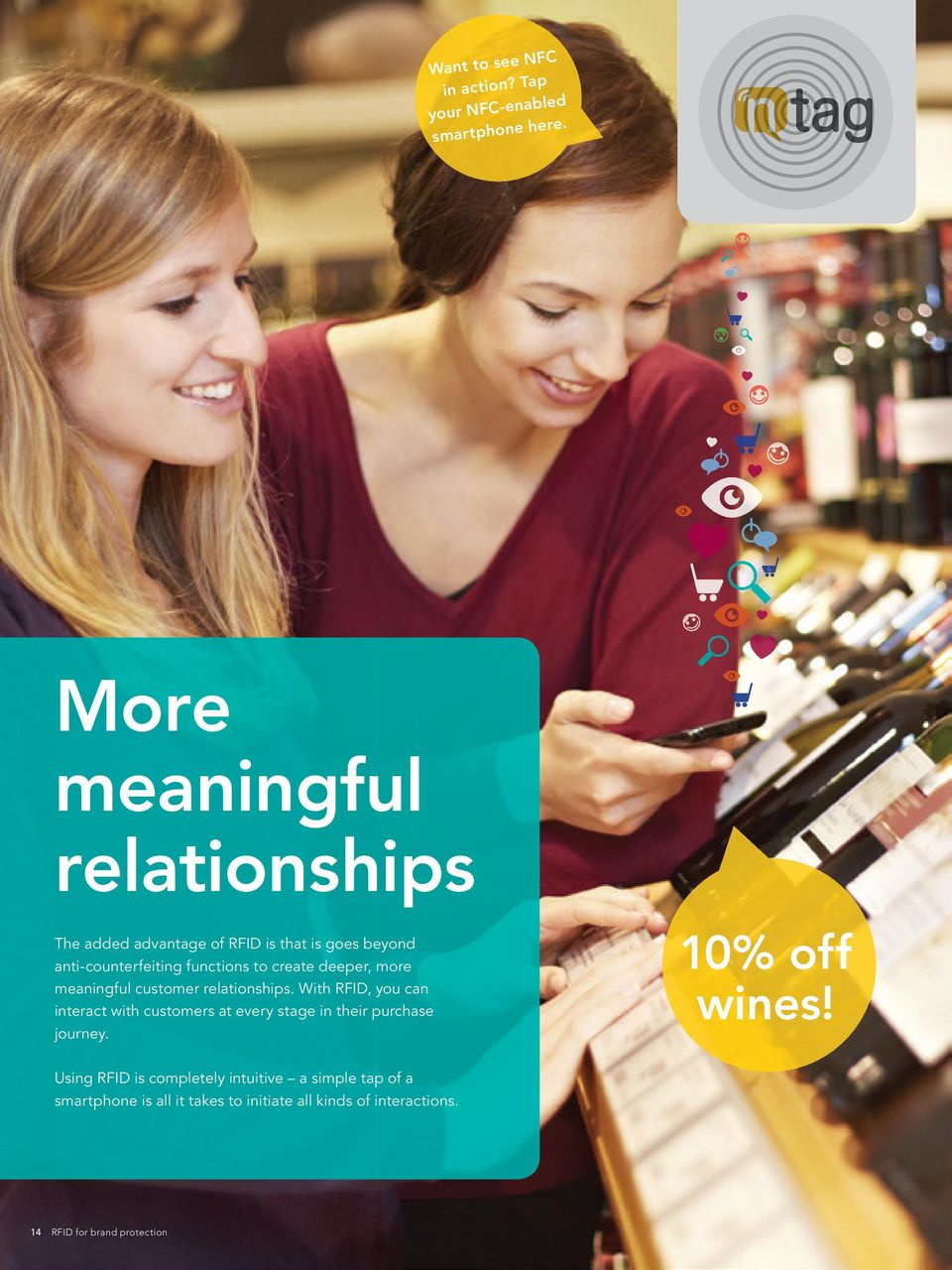deeper, more meaningful customer relationships.