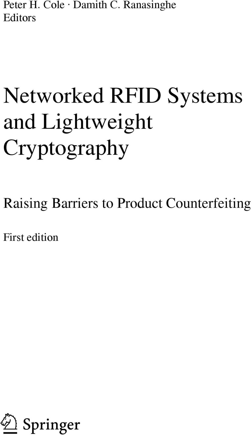 Systems and Lightweight Cryptography