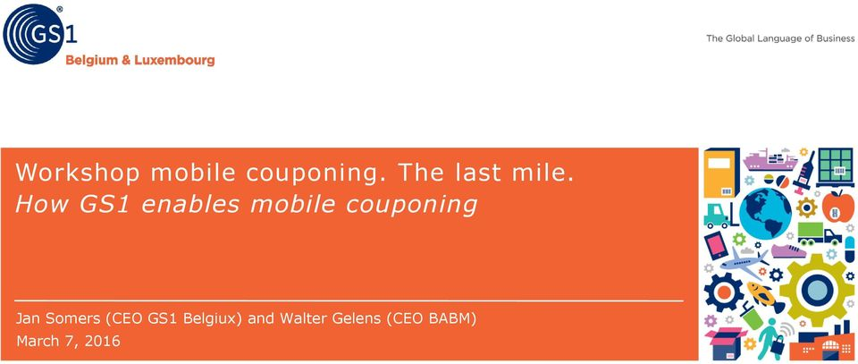 How GS1 enables mobile couponing Jan