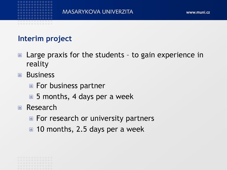 partner 5 months, 4 days per a week Research For