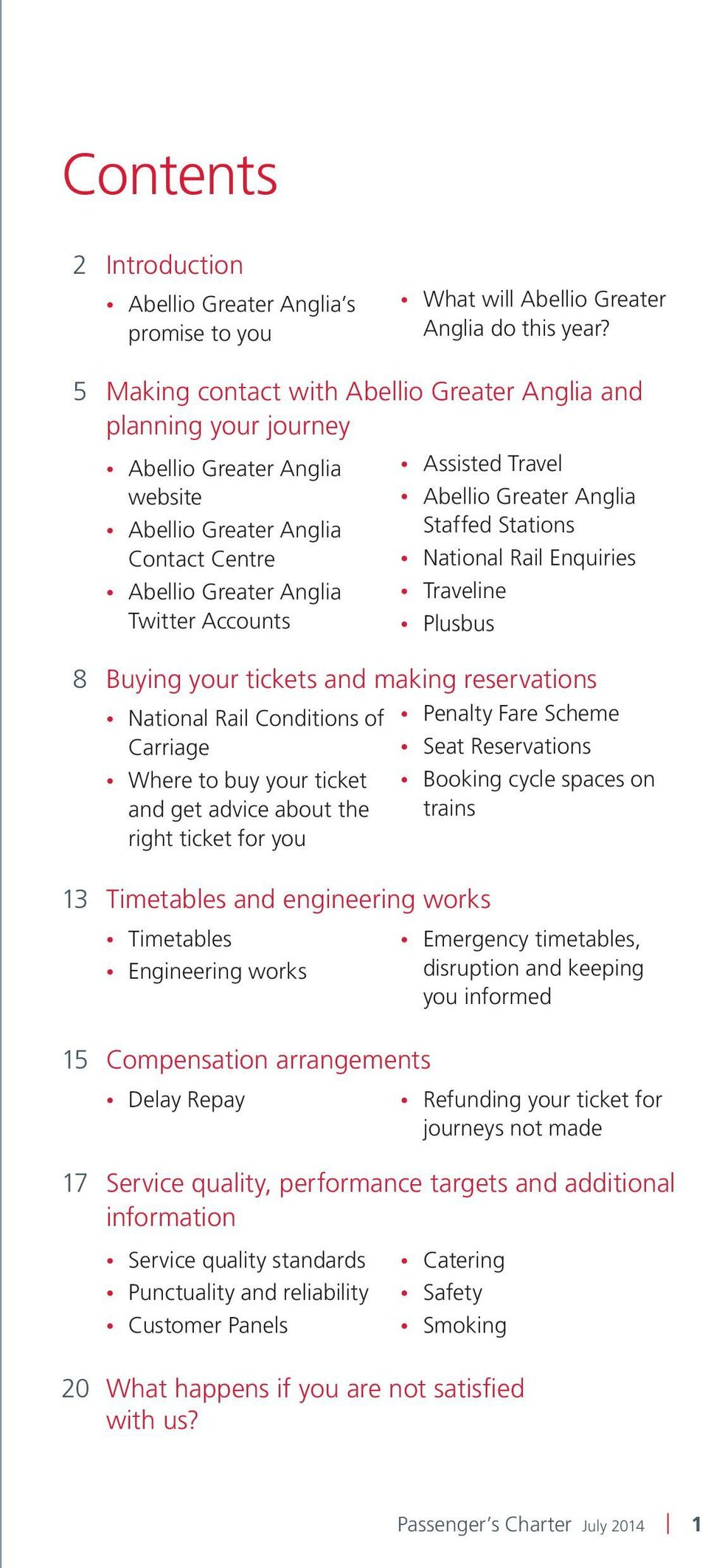 tickets and making reservations National Rail Conditions of Penalty Fare Scheme Carriage Seat Reservations Where to buy your ticket Booking cycle spaces on and get advice about the trains right