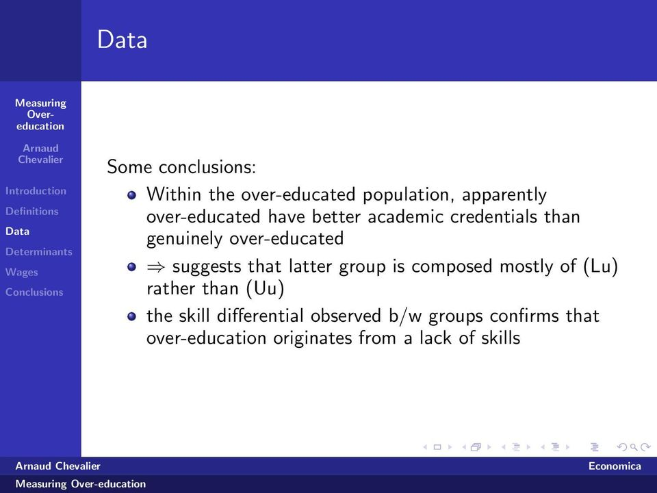 latter group is composed mostly of (Lu) rather than (Uu) the skill differential