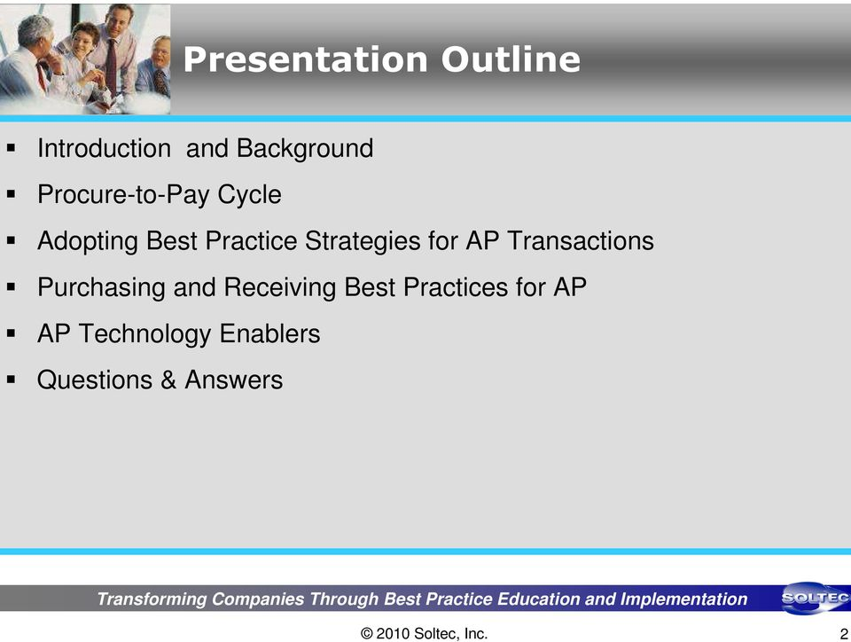 Strategies for AP Transactions Purchasing and
