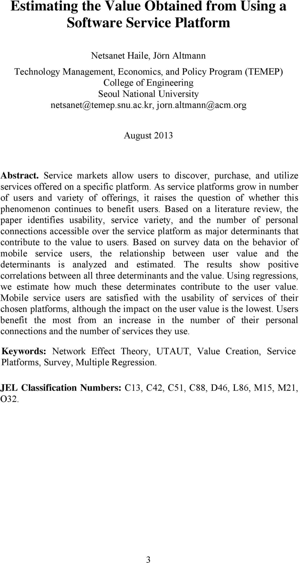 As service platforms grow in number of users and variety of offerings, it raises the question of whether this phenomenon continues to benefit users.