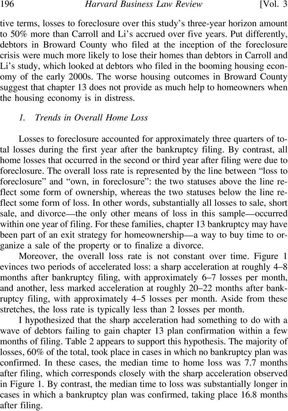 debtors who filed in the booming housing economy of the early 2000s.