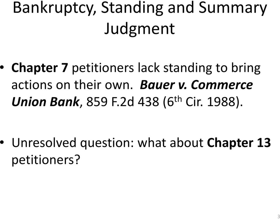 Bauer v. Commerce Union Bank, 859 F.2d 438 (6 th Cir.