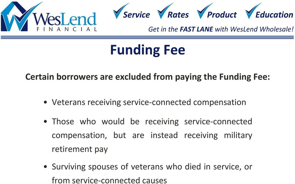 service connected compensation, but are instead receiving military retirement