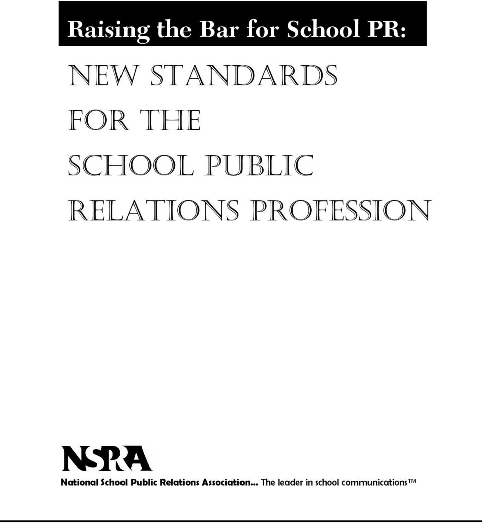 PROFESSION National School Public