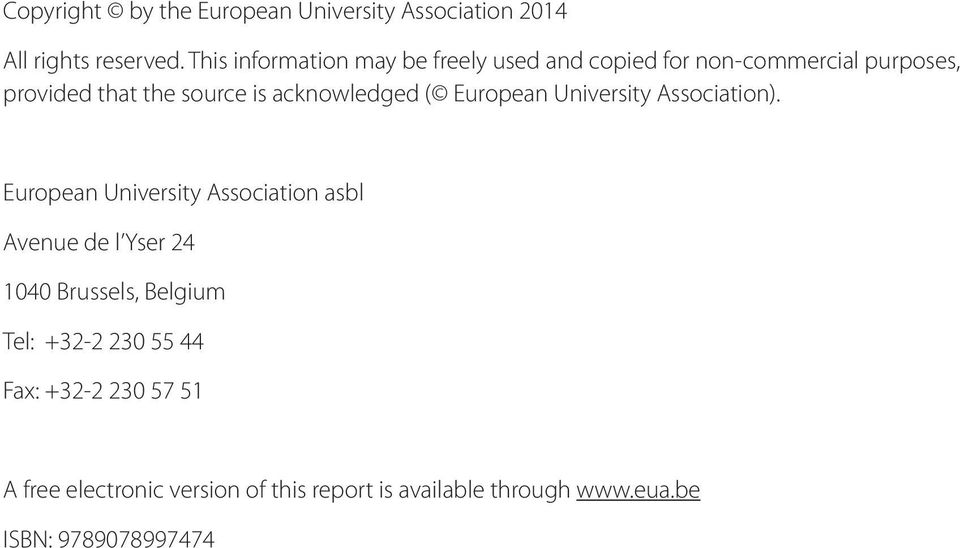 acknowledged ( European University Association).