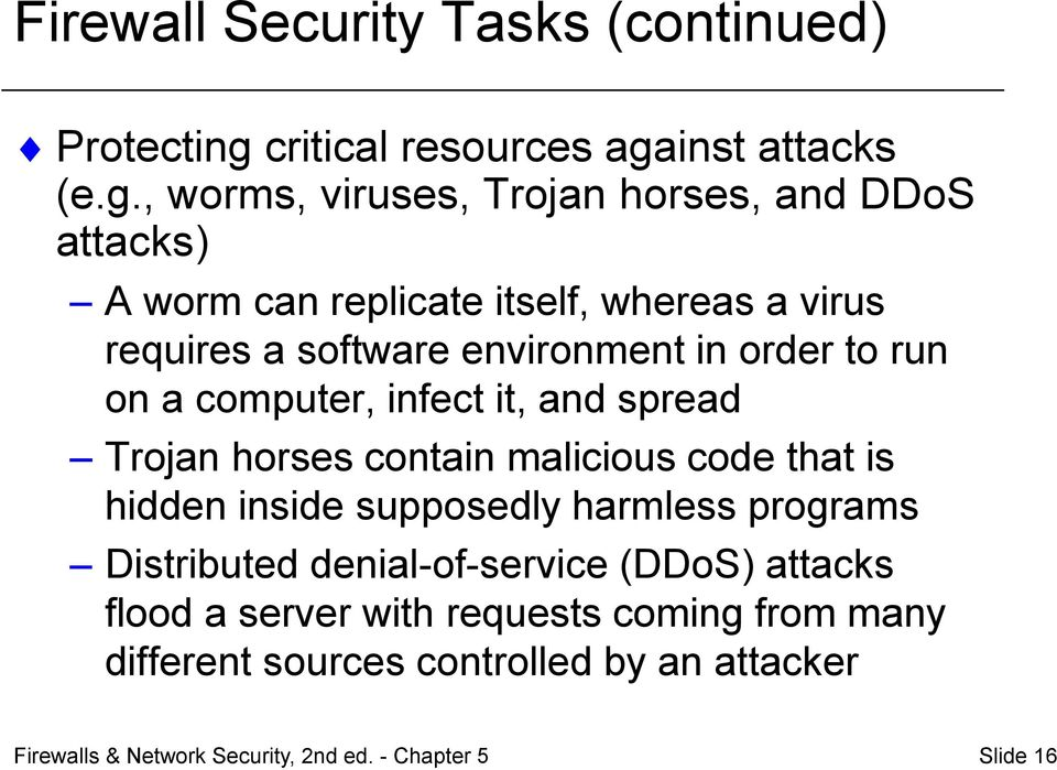 inst attacks (e.g.