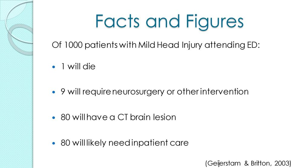 other intervention 80 will have a CT brain lesion 80