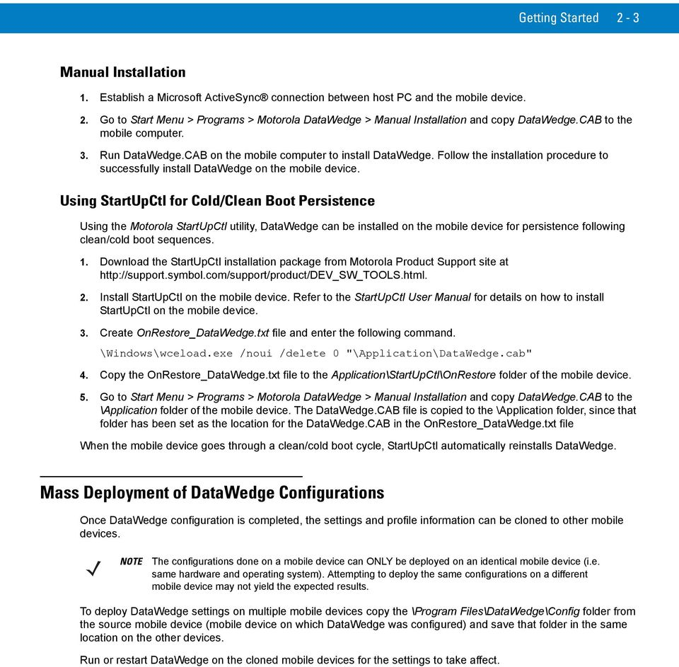 Datawedge 30 Advanced Configuration Guide Pdf