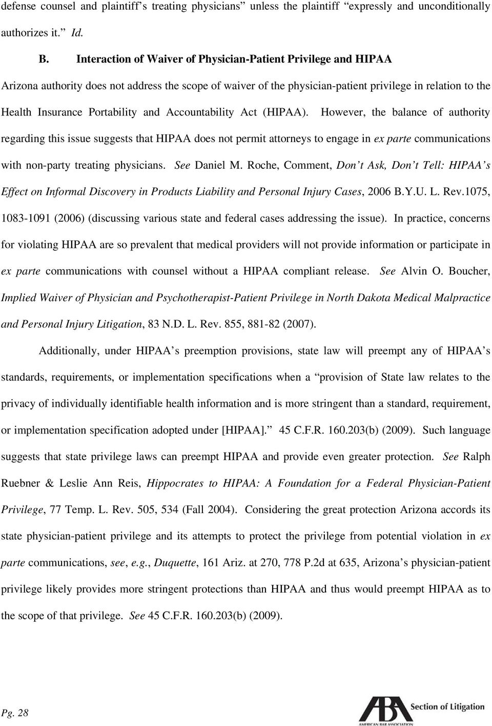 Portability and Accountability Act (HIPAA).