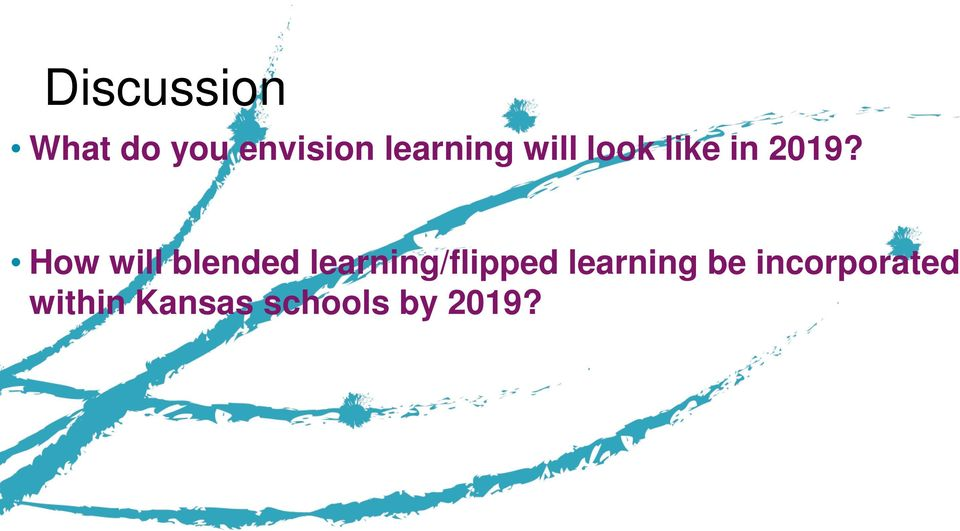 How will blended learning/flipped