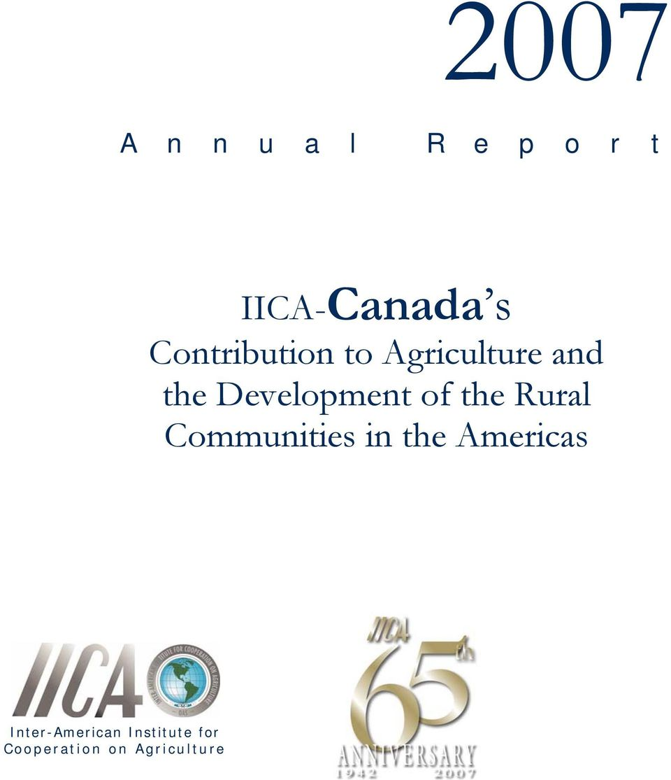 Development of the Rural Communities in the