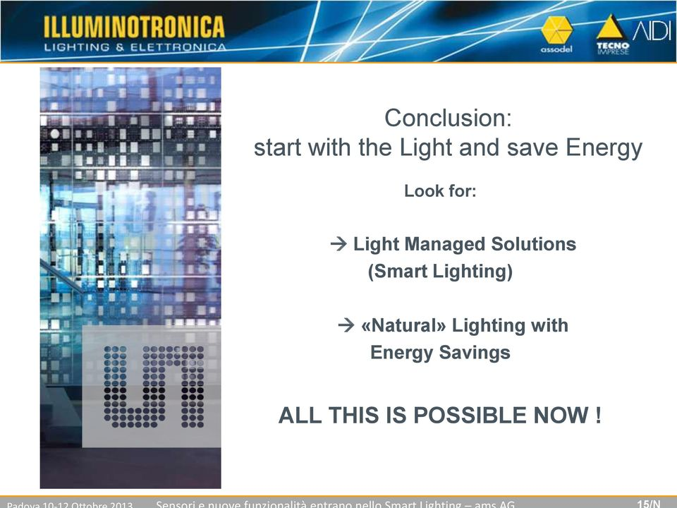Solutions (Smart Lighting) «Natural»