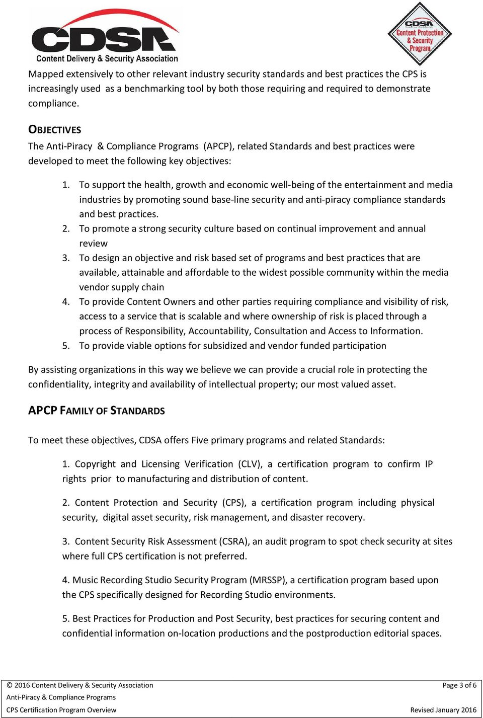 Content Protection Security Cps Certification Program Overview Pdf