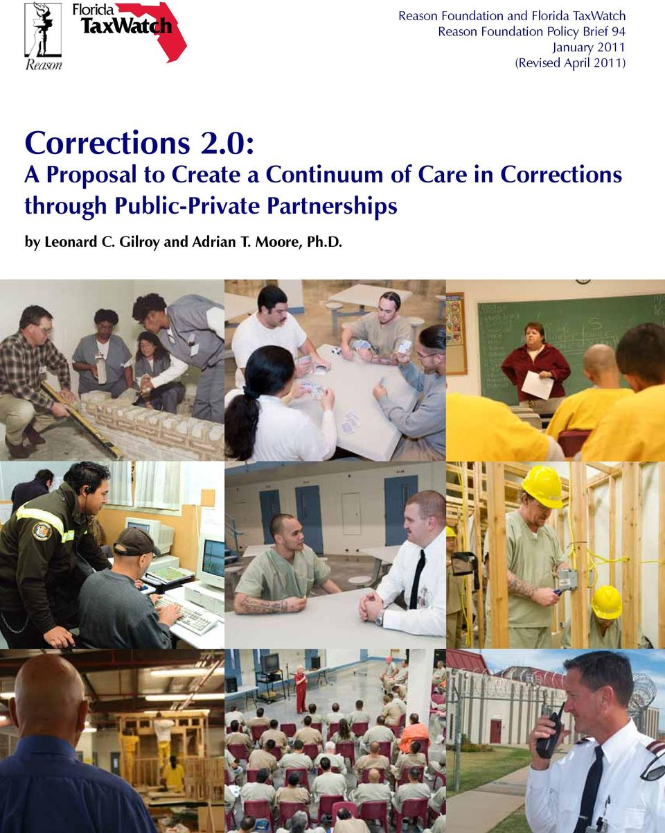 0: A Proposal to Create a Continuum of Care in Corrections