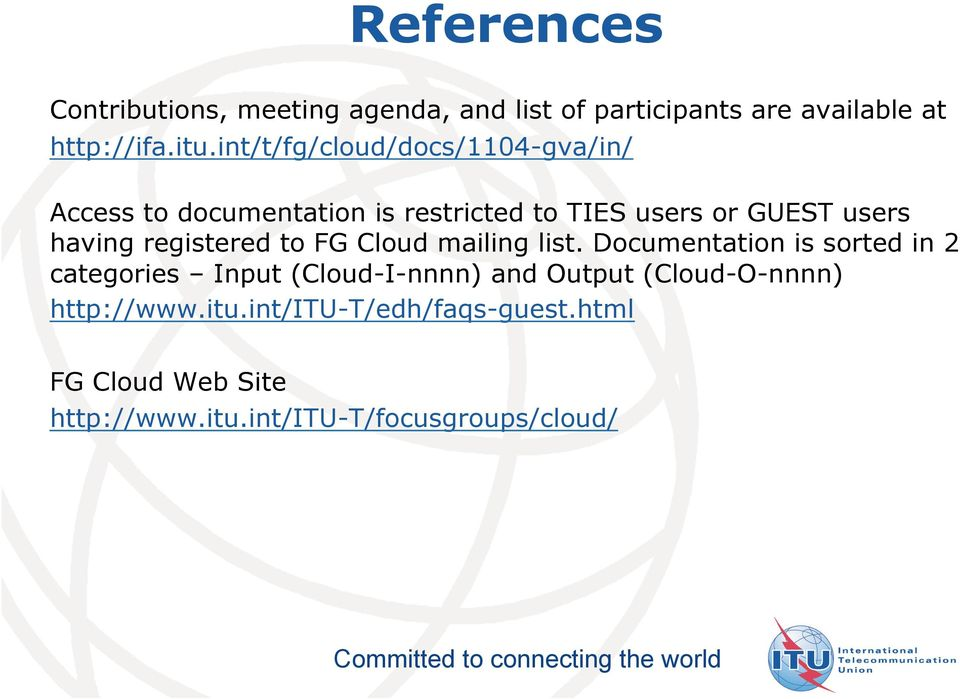 registered to FG Cloud mailing list.