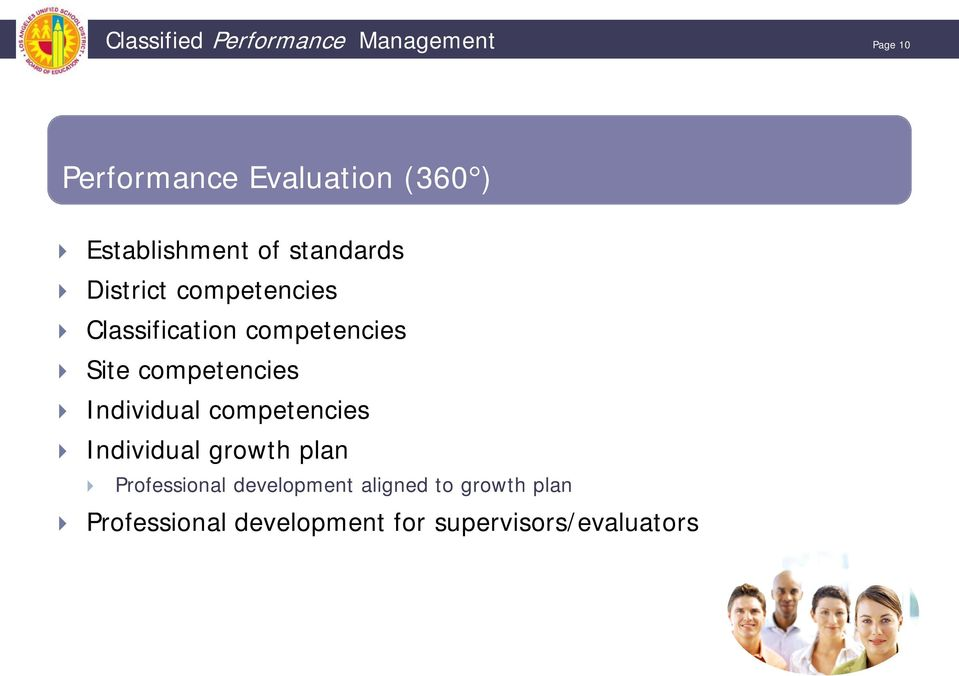 Site competencies Individual competencies Individual growth plan Professional