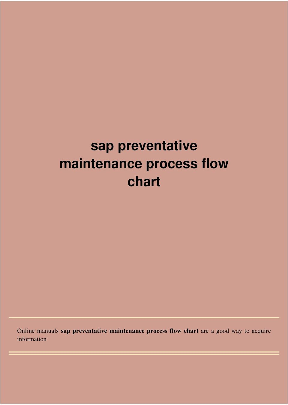 chart Online manuals are