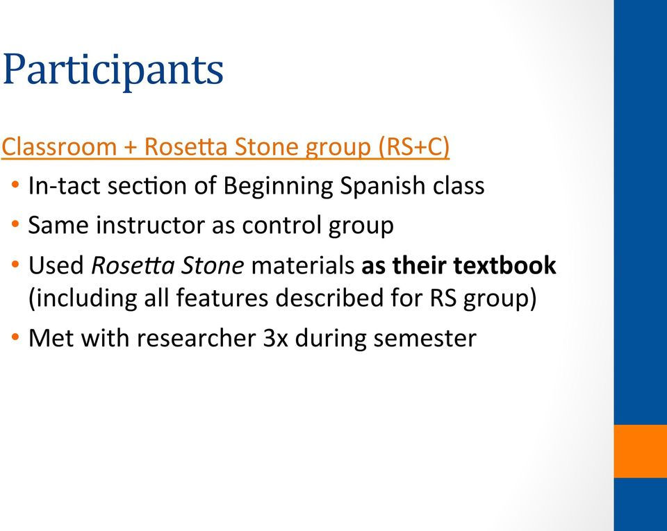 group Used Rose3a Stone materials as their textbook (including
