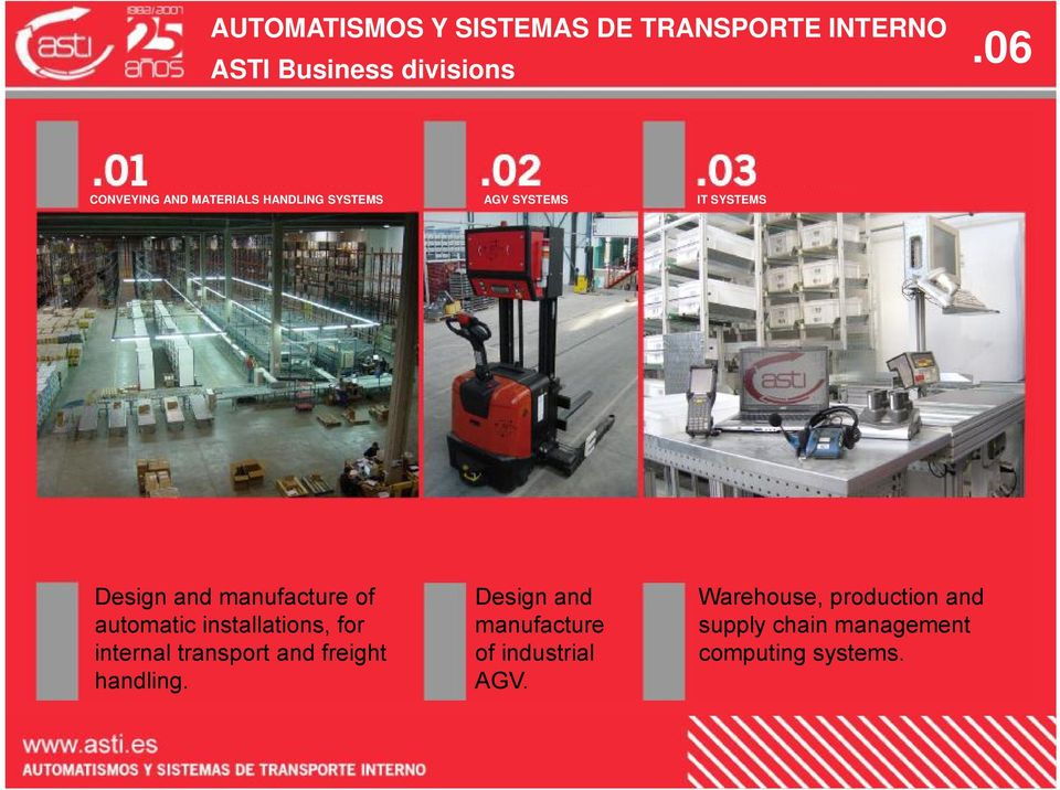 internal transport and freight handling.
