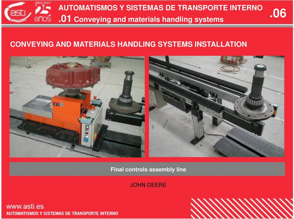 MATERIALS HANDLING SYSTEMS
