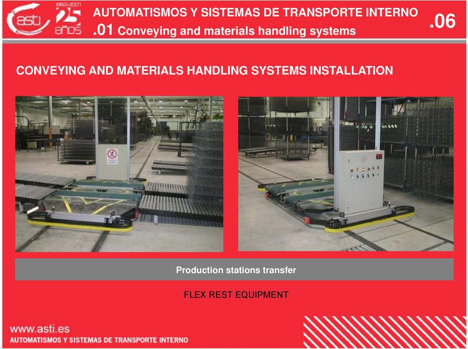 HANDLING SYSTEMS INSTALLATION