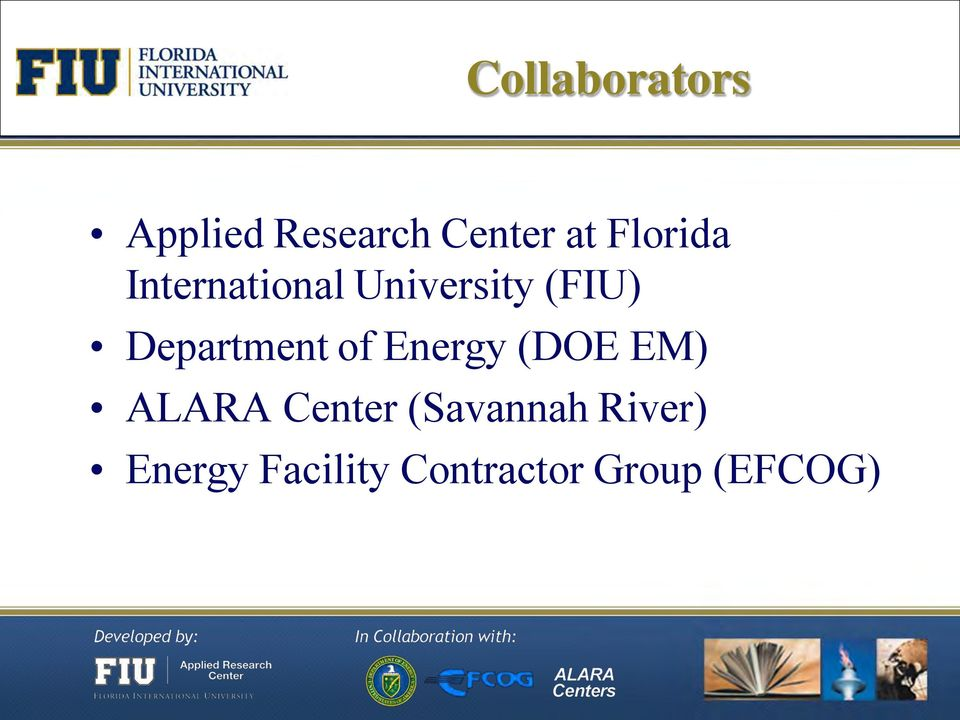 Department of Energy (DOE EM) ALARA Center