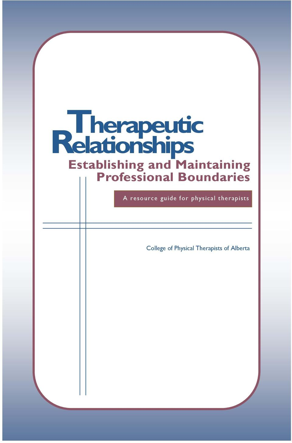A resource guide for physical therapists