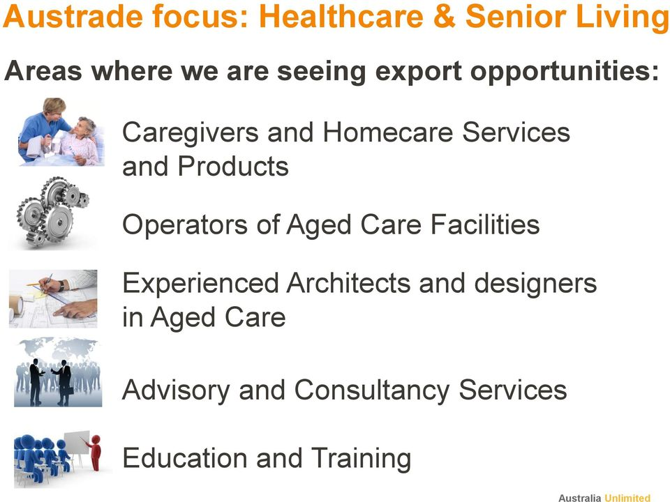 Operators of Aged Care Facilities Experienced Architects and