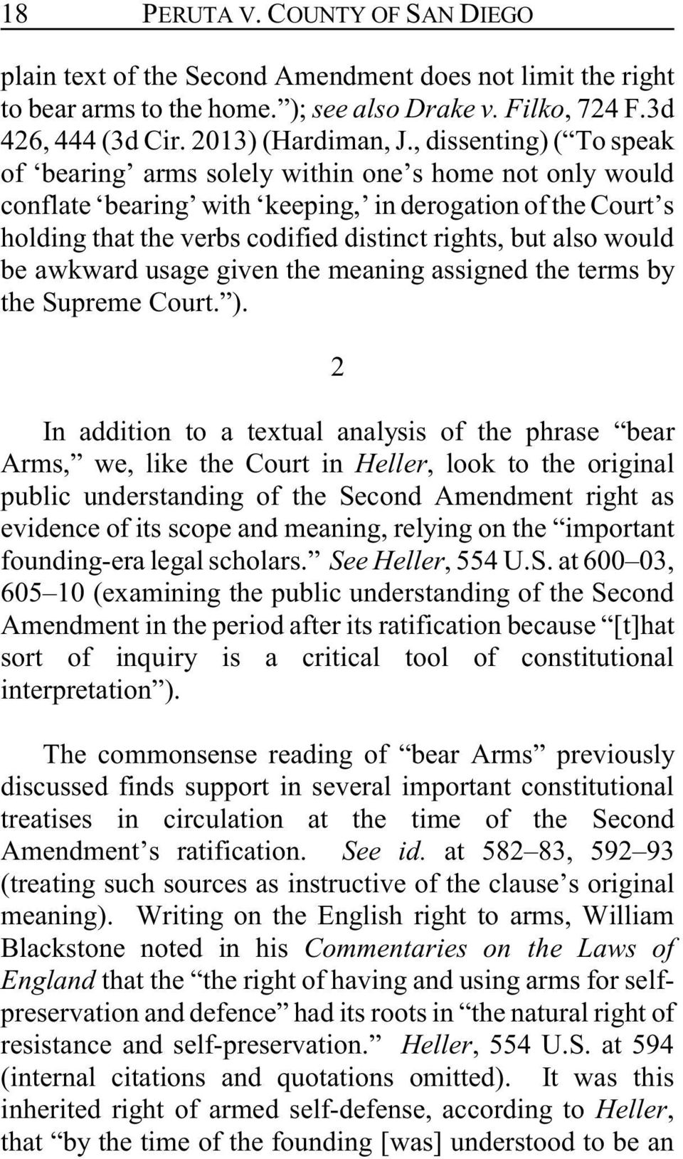 would be awkward usage given the meaning assigned the terms by the Supreme Court. ).
