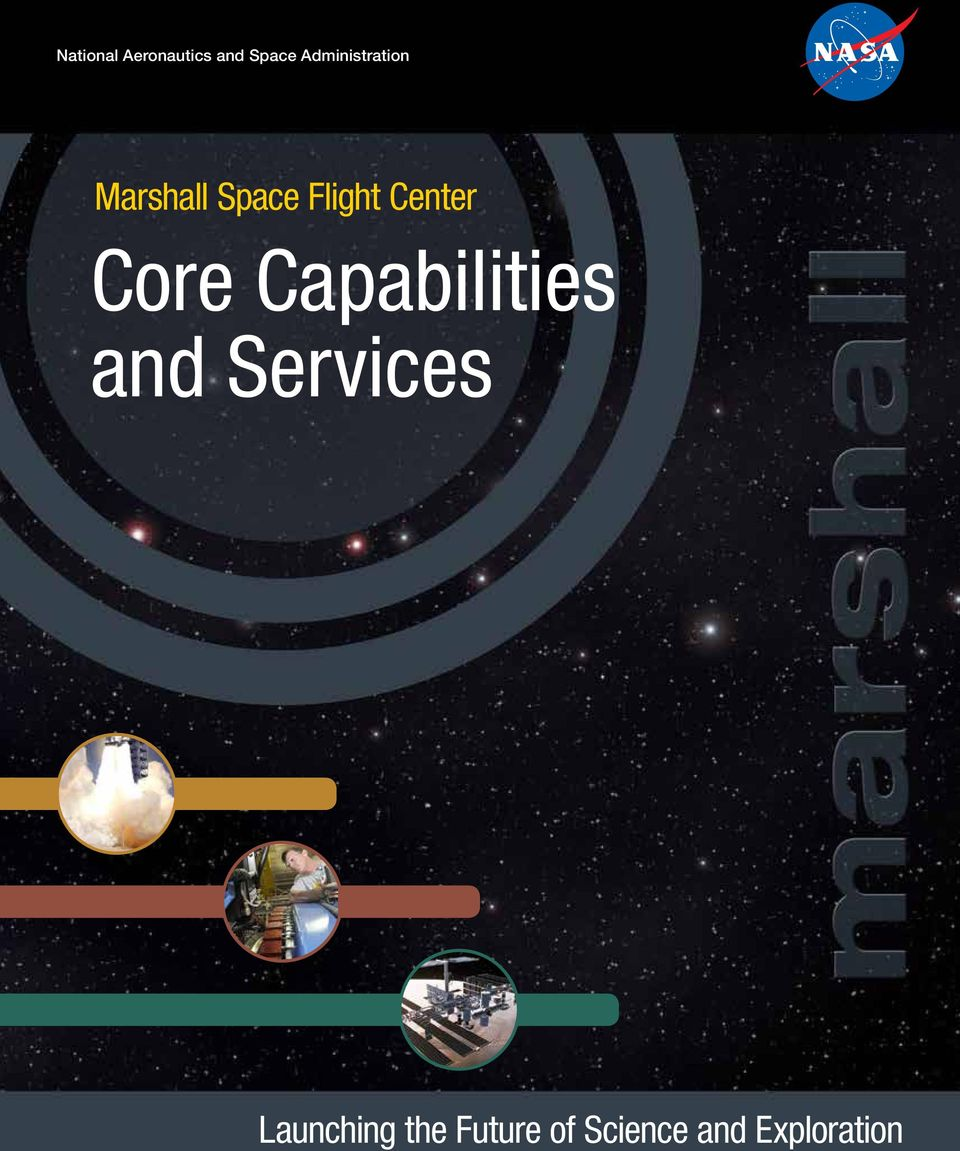 Center Core Capabilities and Services