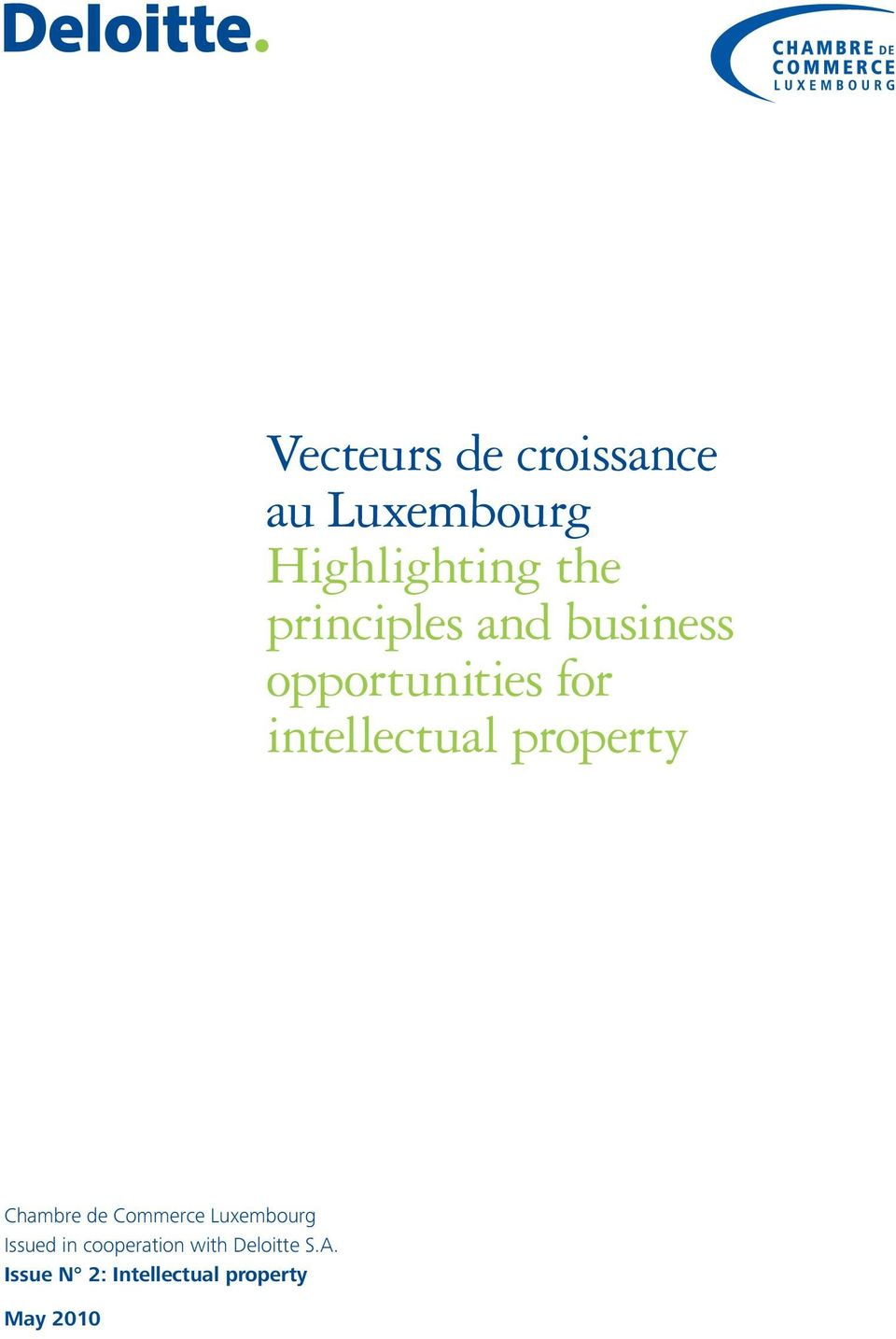 property Chambre de Commerce Luxembourg Issued in