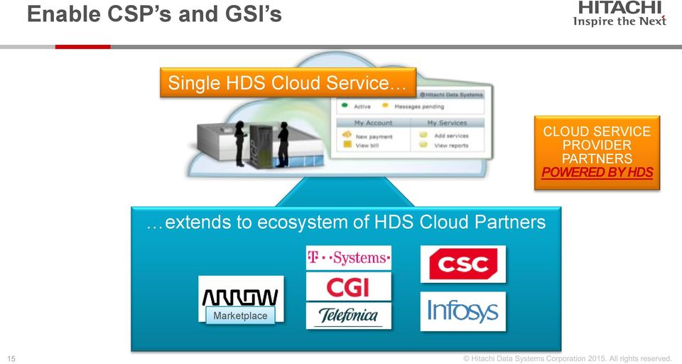 PARTNERS POWERED BY HDS extends to